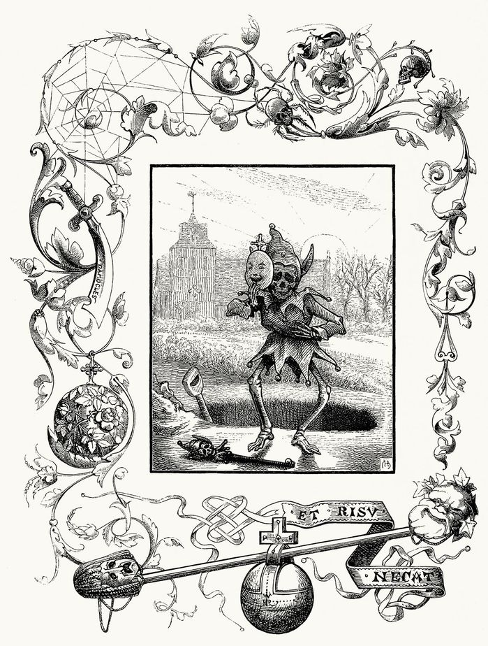 Charles Bennett, from Quarles' emblems, by Francis Quarle