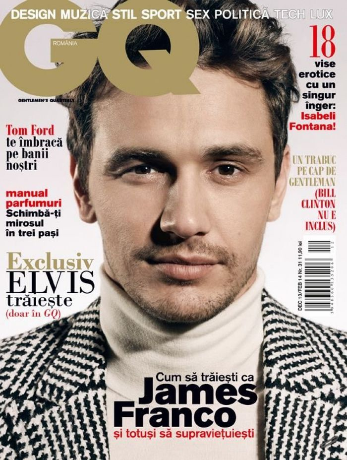 James FRANCO...GQ Roumanie
