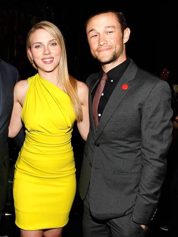 Coiples Scarlett JOHANSSON &amp; Joseph GORDON-LEVITT