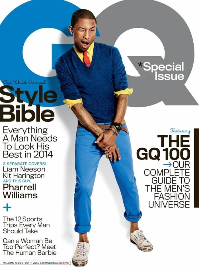 Pharrell Covers GQ Style Bible, Talks Music & Why He's Co