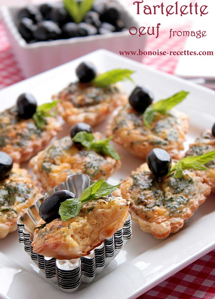 tartelette fromage oeuf1