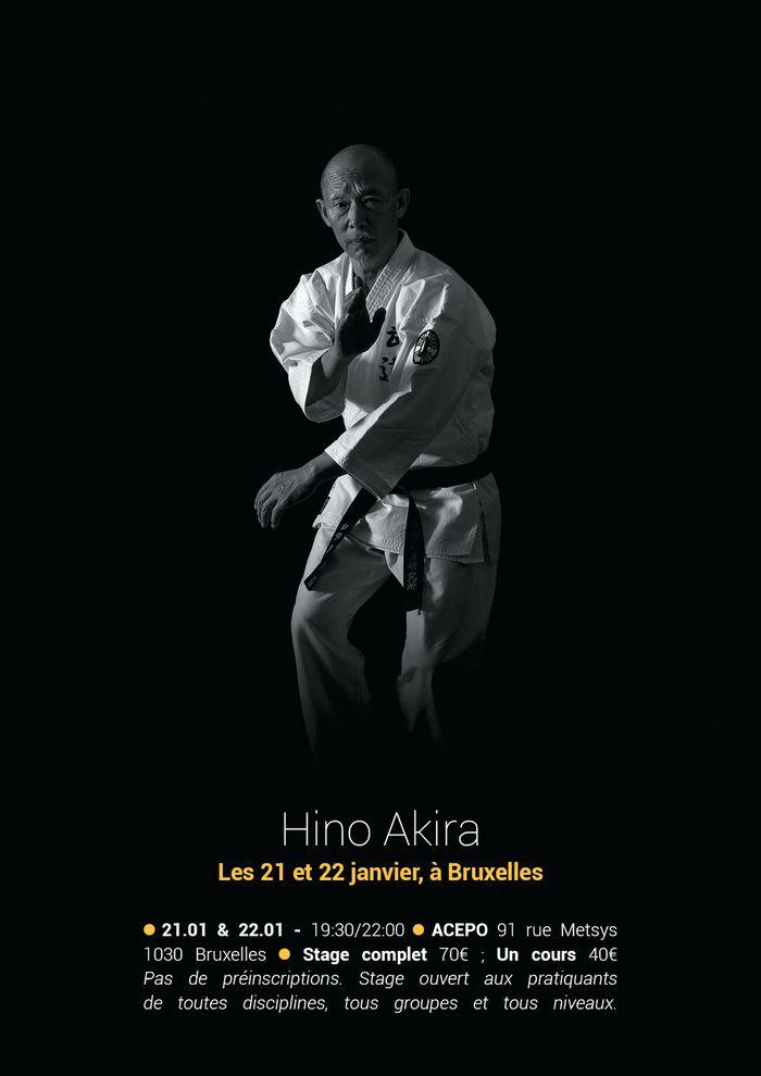Hino Akira Bruxelles jan 2015