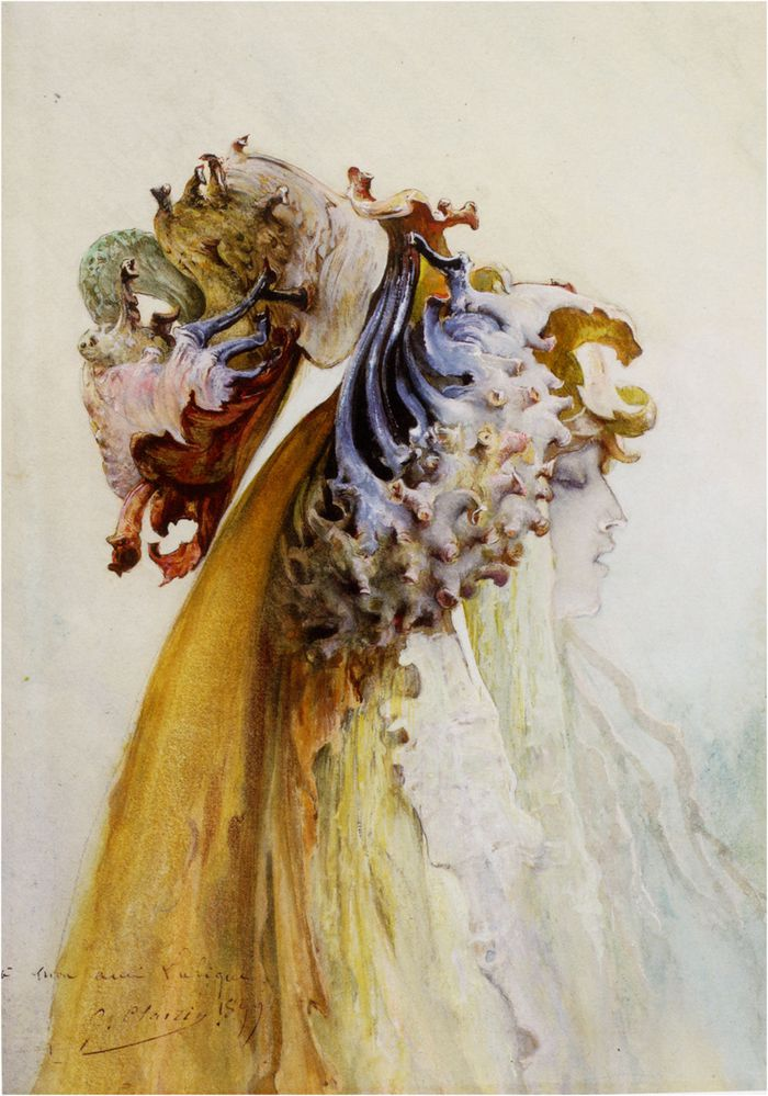 Georges-Jules-Victor-Clairin---Buste-De-Femme-De-Profil.jpg