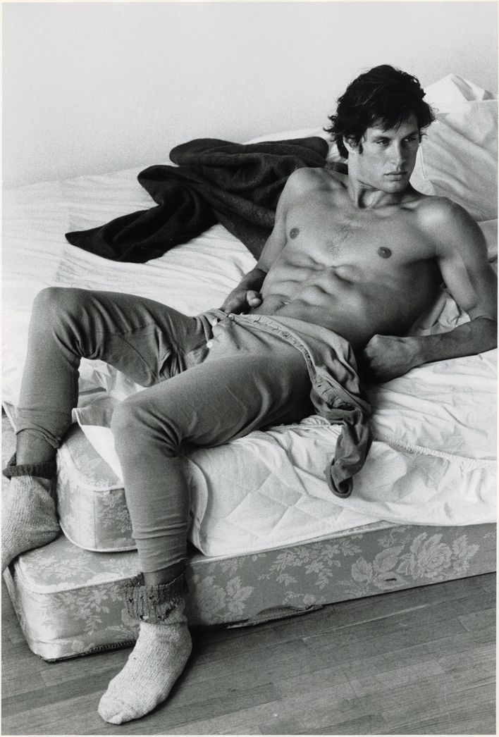 "Jeff Aquilon Photographed by Bruce Weber, 1984 in ""HISTOR"