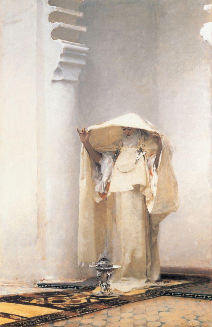 Fumée d'Ambre Gris - John Singer Sargent-1880