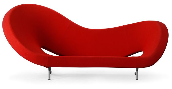 Victoria & Albert-sofa by Ron Arad, produced by Moroso, Ita