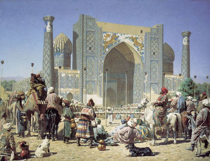 Samarkand-in-the-time-of-Timur.-Oil-on-canvas--Vasily-Vere.jpeg