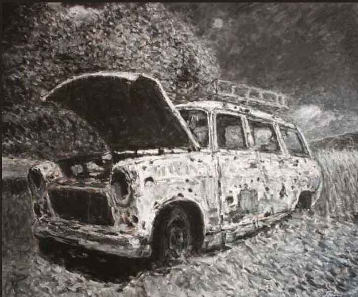 Oussama-Baalbaki-paintings-pictures-the-car.jpg