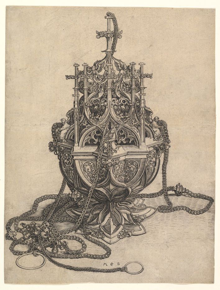 Martin-Schongauer--The-Censer--Engraving--15th-Century.jpg