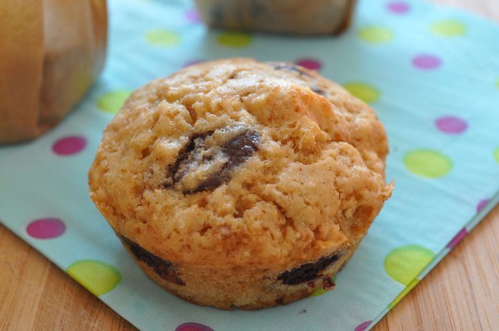 muffins noisettes chocolat