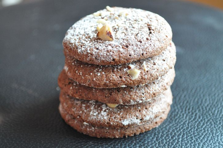 biscuits chocolat noisette