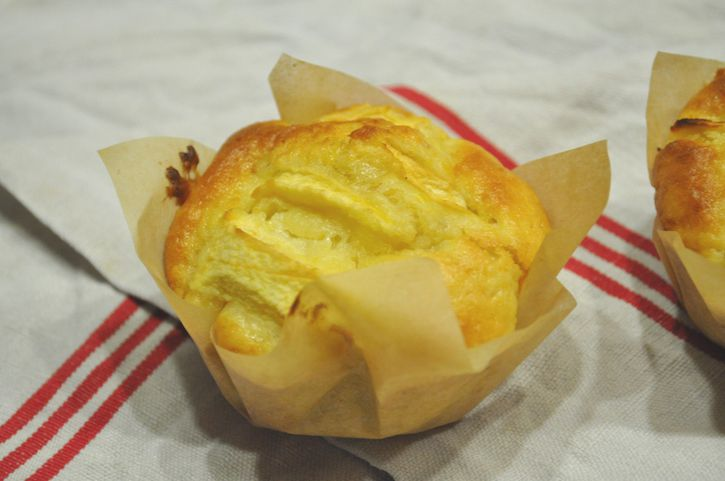 muffin pommes