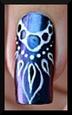 nail art mousse bulles