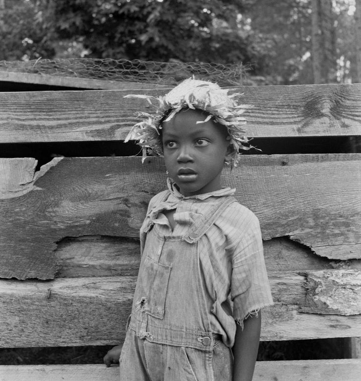 Dorothea Lange - Grandson of Negro tenant whose father is i