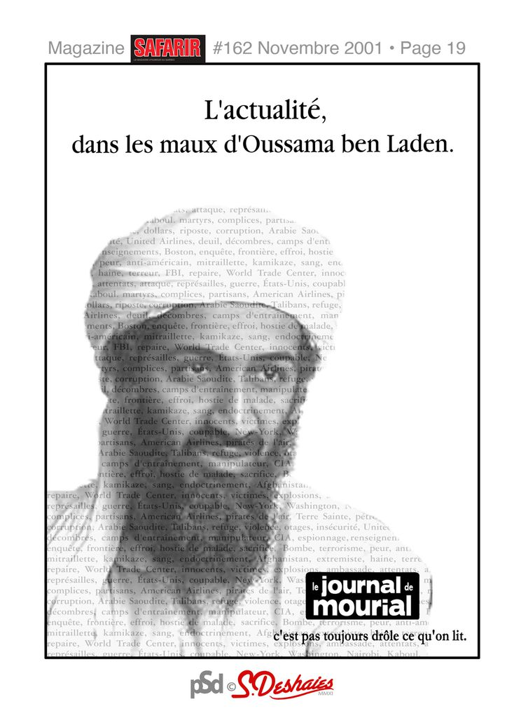 Safarir_Pub Journal MTL-Ben laden2011.2