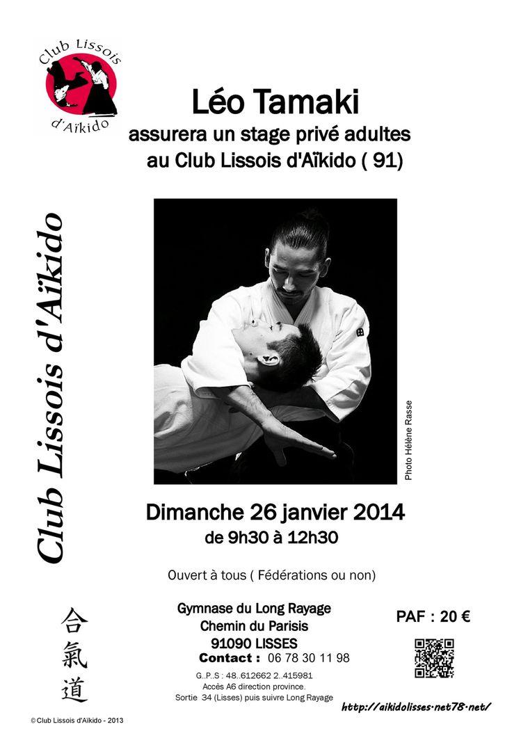 Stage Léo Tamaki Lisses janvier 2014