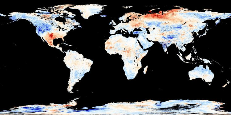 Anomalies T juin 2011