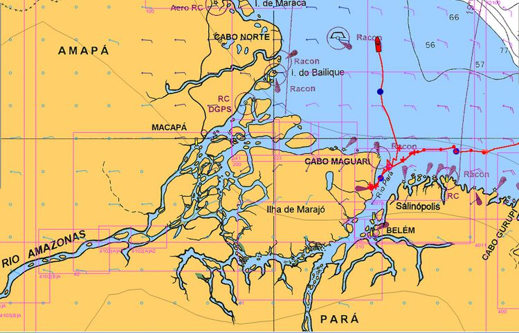 Delta Amazone Nav Marajo Kourou