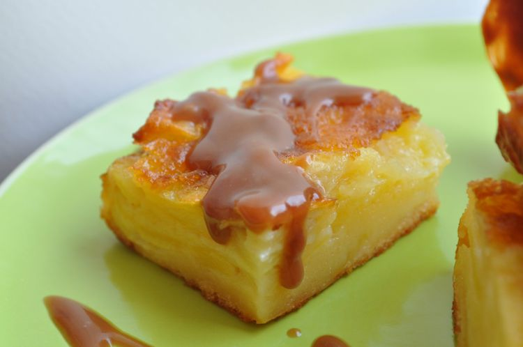 pommes coulis carambar