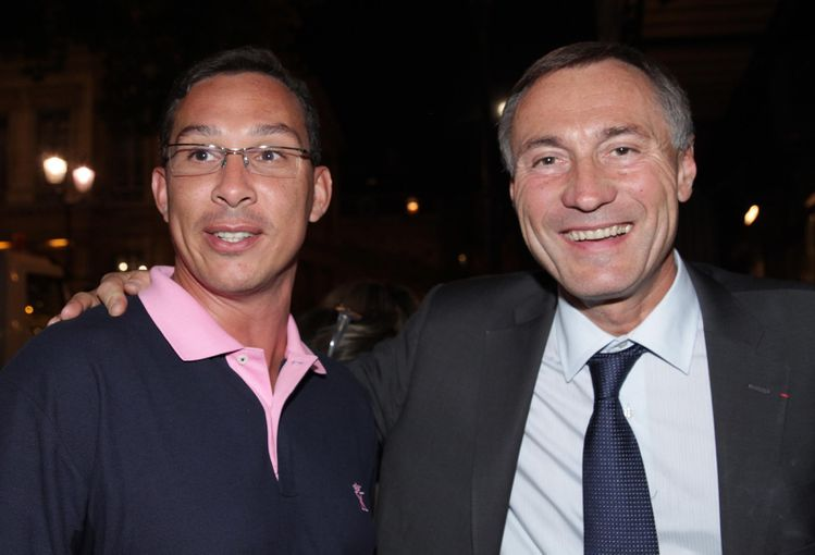 Grégory Kromwell et JM Bockel(RDG)