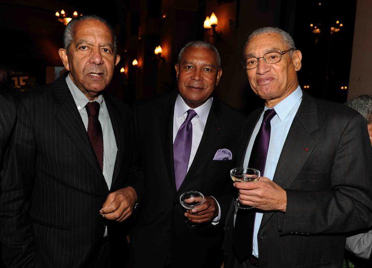 docteur Bibas, Georges Siron et Georges Dorion photo A Joc