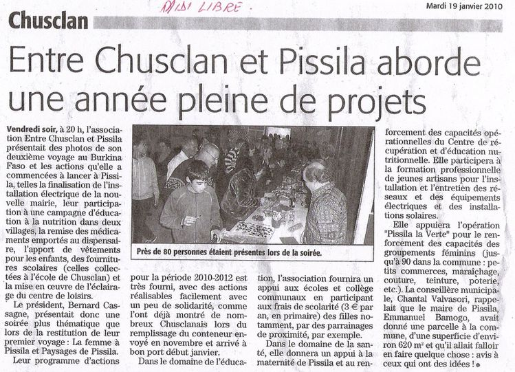 Midi Libre - 19-11-2010 - Restitution