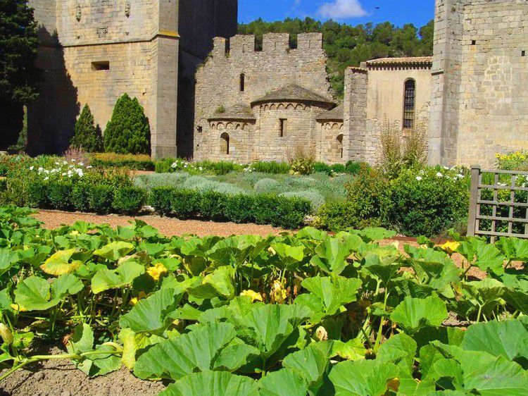 Le monast re b n dictin sainte marie d 39 orbieu de for Au jardin de la tour carcassonne