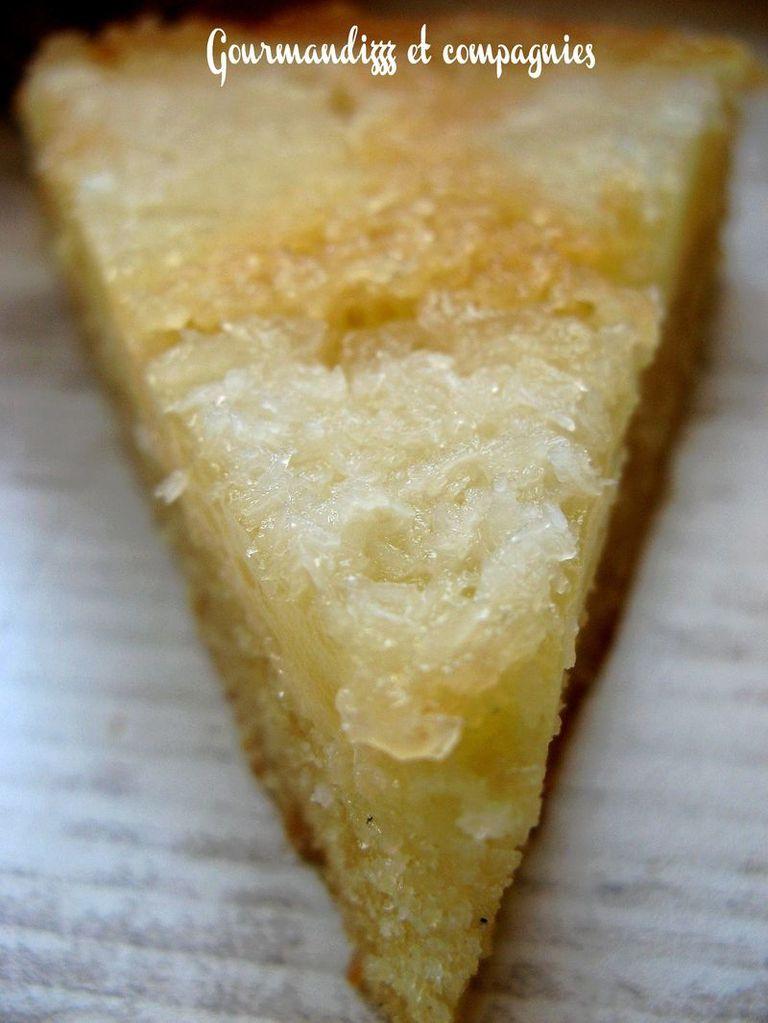 Gateau moelleux ananas noix de coco