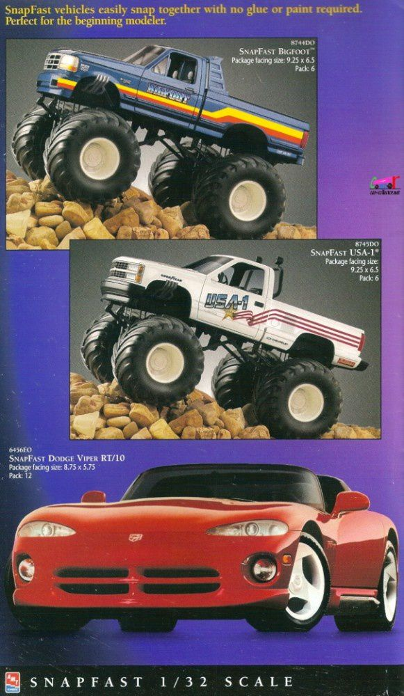 catalogue-ertl-1997-snapfast-bigfoot-viper