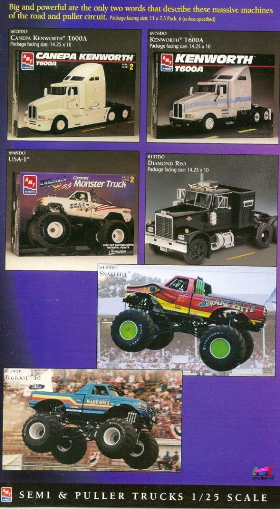 catalogue-ertl-1997-semi-puller-trucks-canepa-kenworth