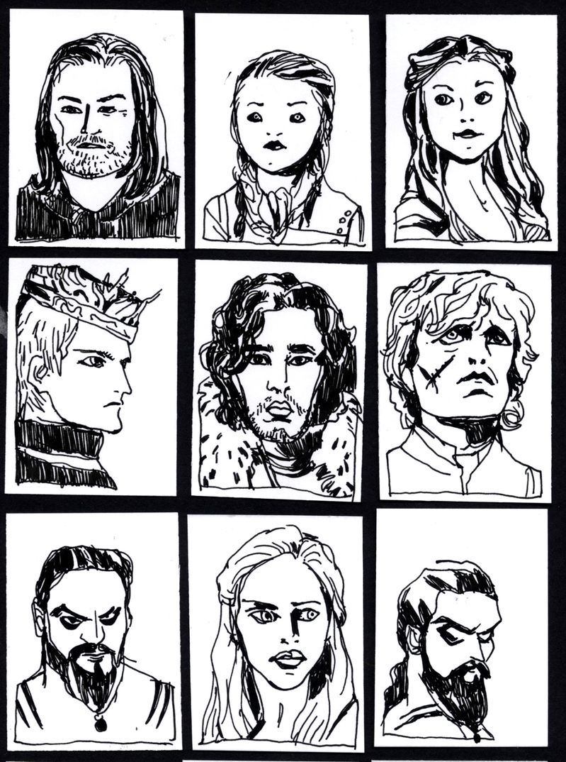 vignettes game of thrones