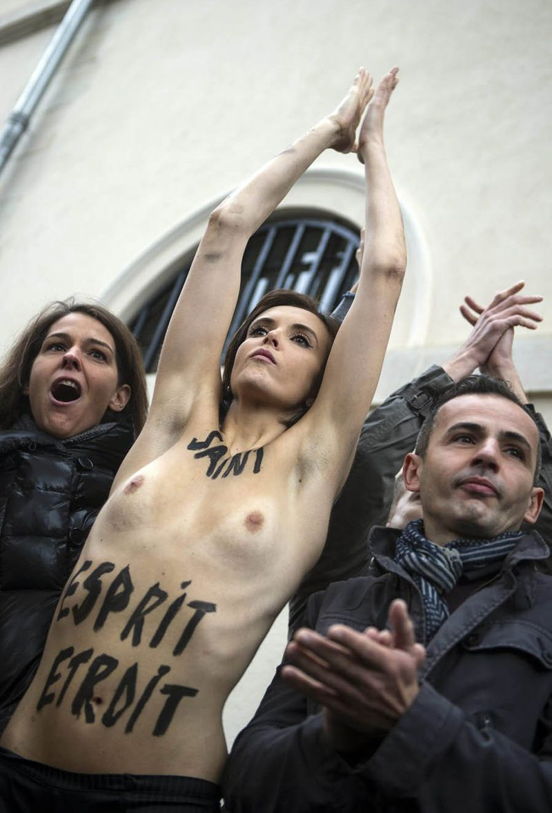 femen naked girl