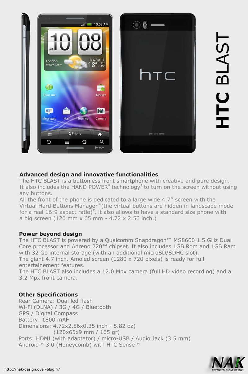 NAK HTC BLAST 1 1280