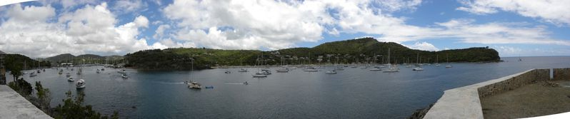 Antigua English Harbour pano0&