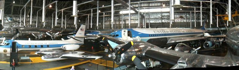 Vue générale hangar AF Ones