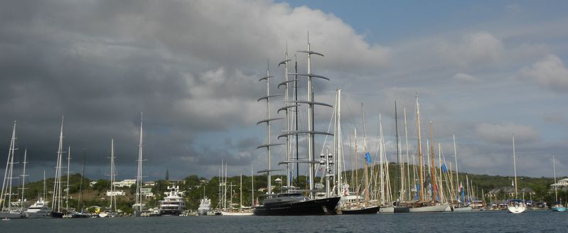 Antigua Falmouth Bay Yatchting Club MalteseFalcon