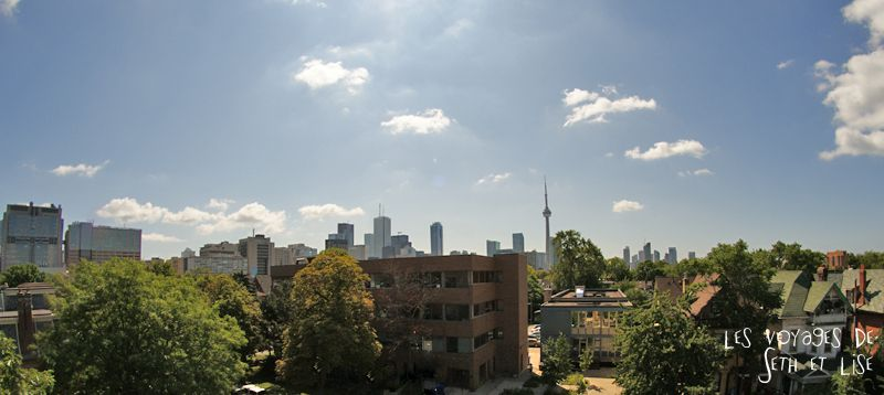 blog voyage canada toronto pvt photo collocation roof toit panorama skyline cn tower