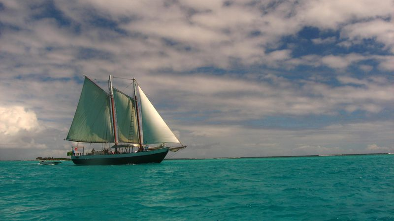 Grenadines TobCays Scaramouche s voile