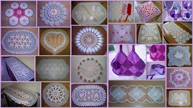 Mes ouvrages au crochet