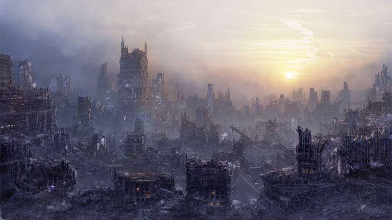 Environment POST APOCALYPSE by I NetGraFX