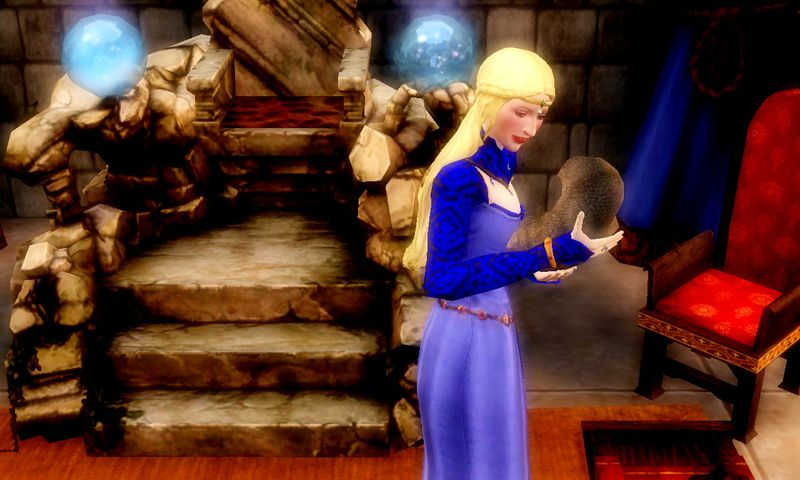 sims medieval photofarfouille ambiance