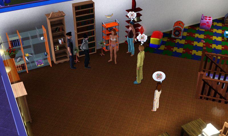 capture ecran jeu sims 3