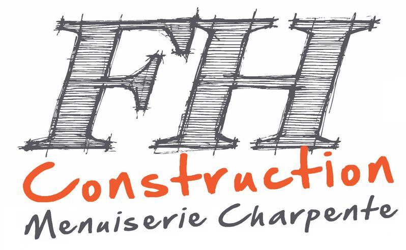 LOGO FH CONSTRUCTION menuiserie