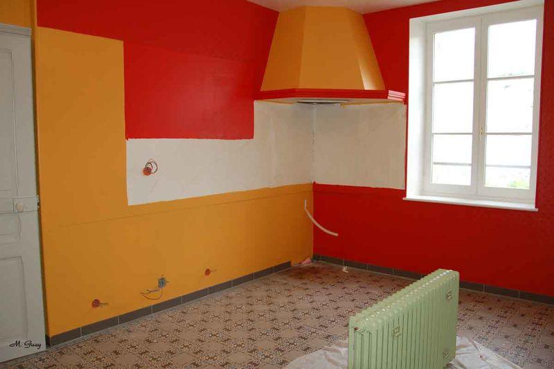 Chambre Orange Et Blanche ~ Idées Novatrices D\'intérieur et De Meubles