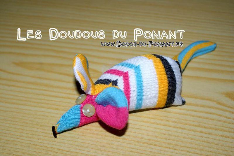 doudou chaussete raye dodo ponant (5)
