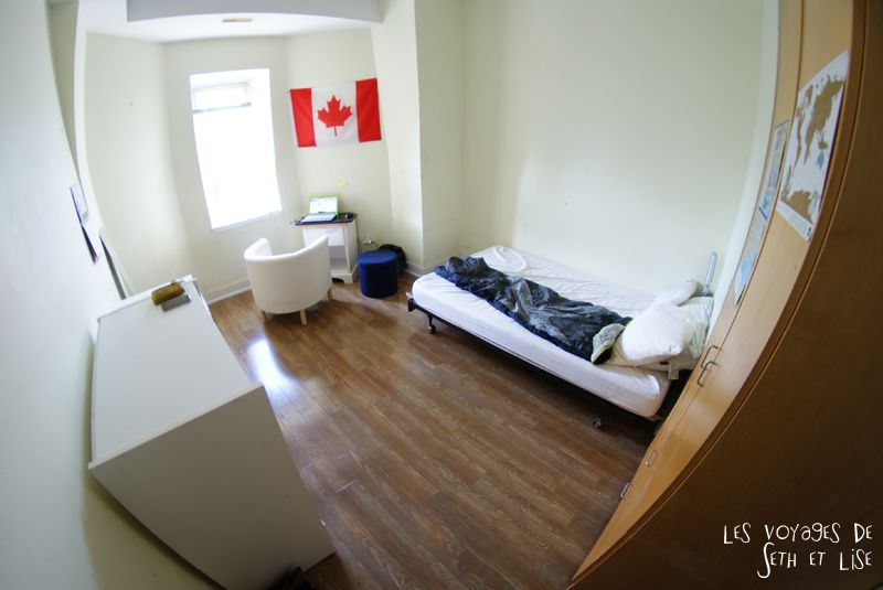 blog voyage canada toronto pvt photo collocation chambre room flag