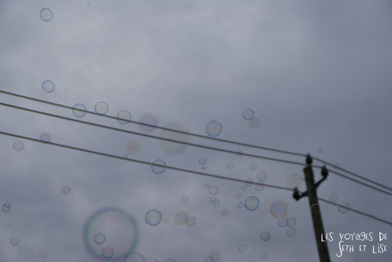 blog canada toronto pvt voyage whv backpack bubble bulles ciel sky