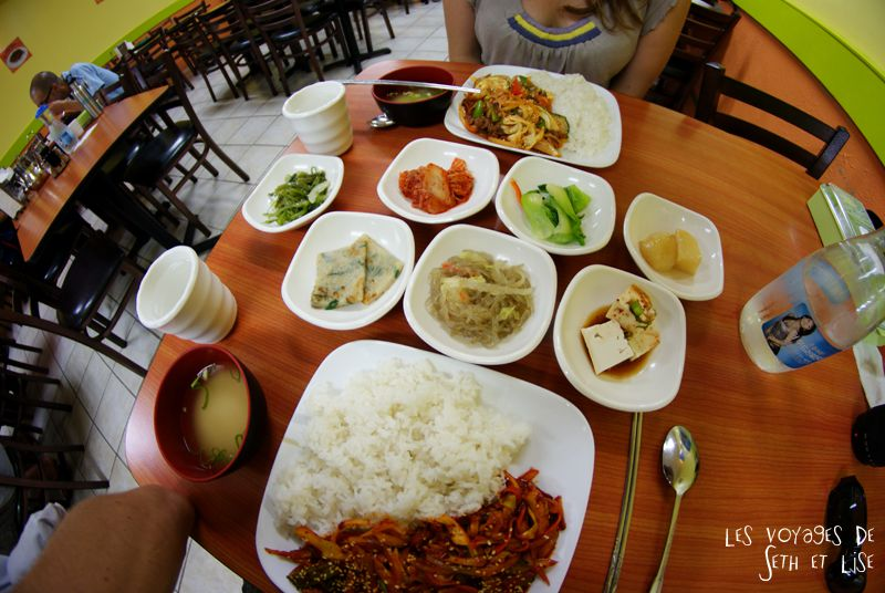 blog canada toronto pvt voyage whv backpack korean restaurant bulgogi