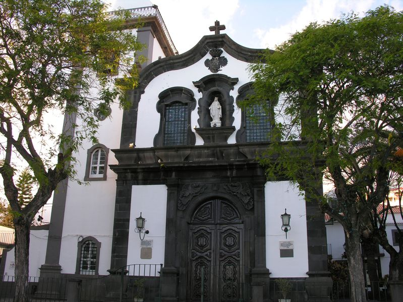 Madere Funchal Eglise 22