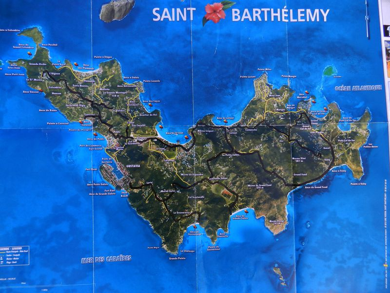 Carte ST Barthelemy 01